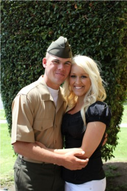 marine couple
