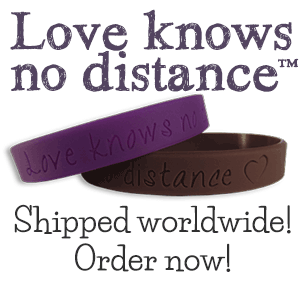 Love knows no distance bracelets