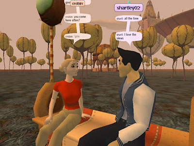 Online virtual sex