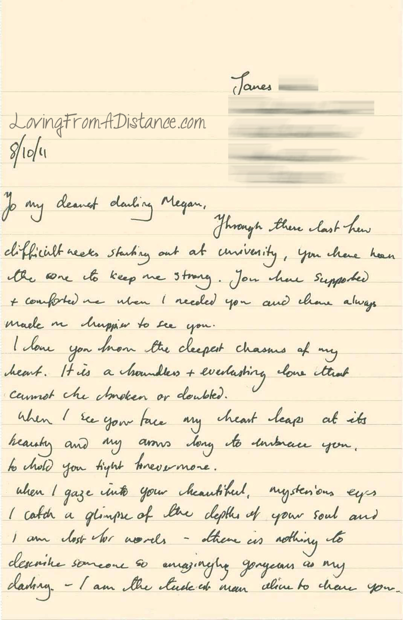 To My Dearest Darling | Long Distance Relationships