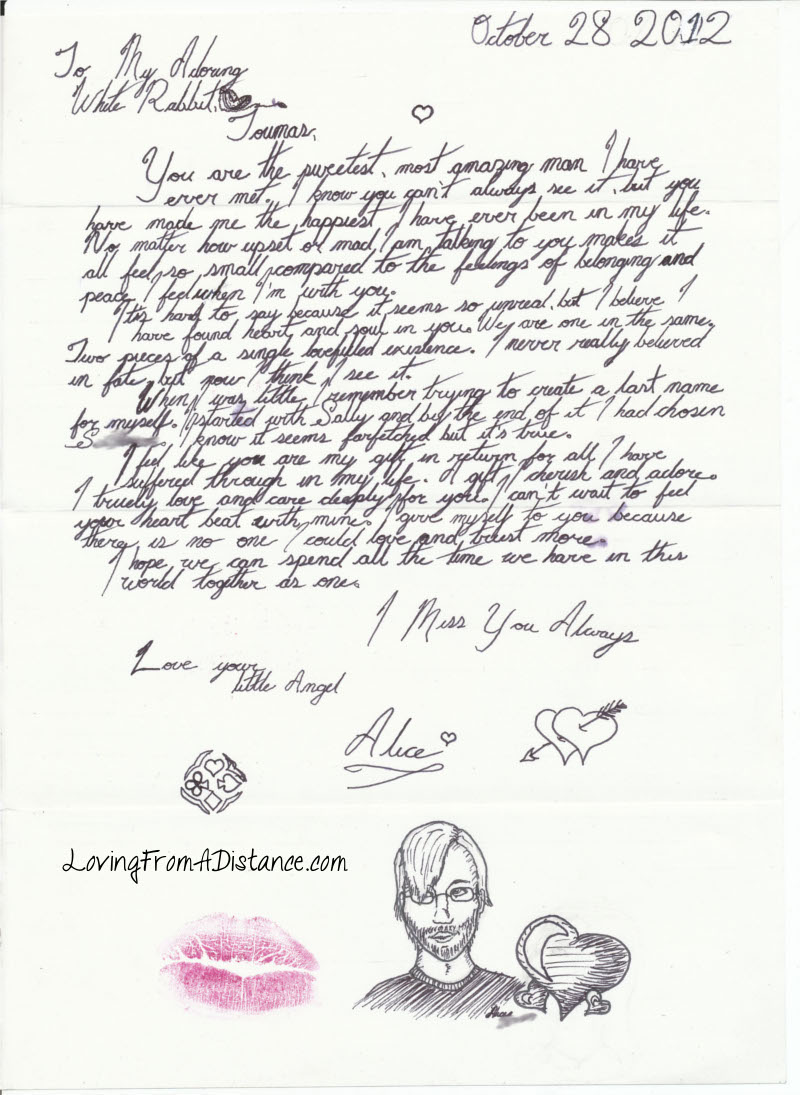 long distance relationship love letter