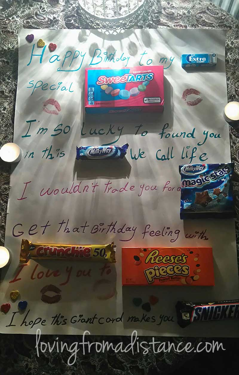 candy love letter