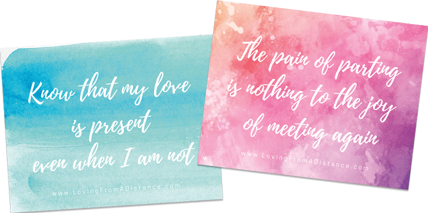 long distance quote prints