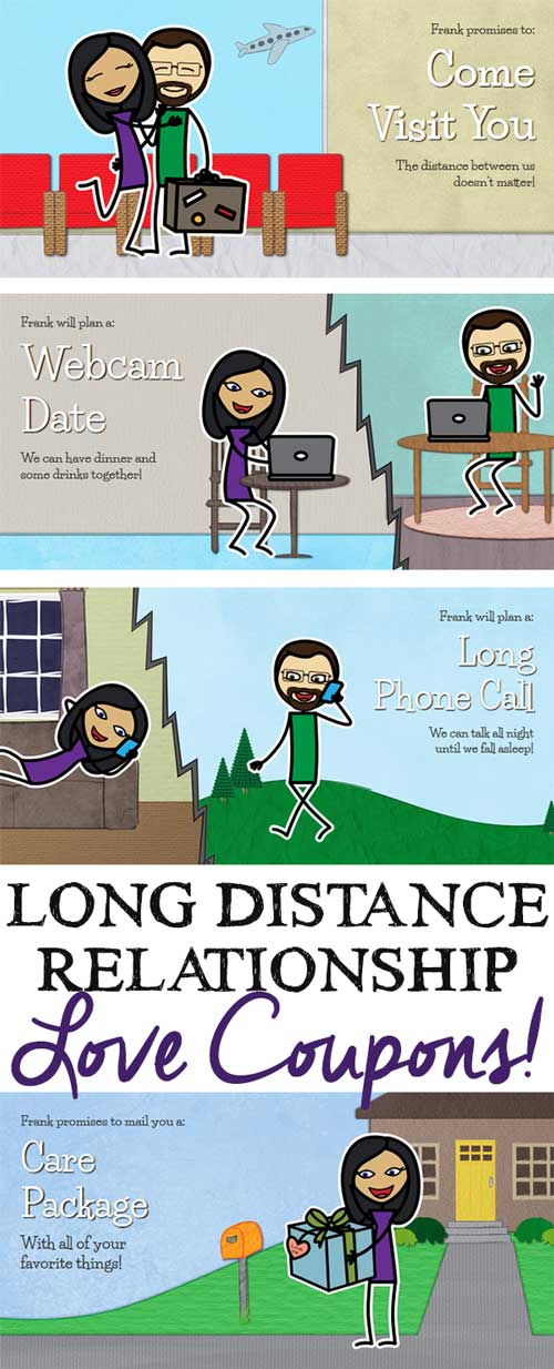 long distance relationship love coupons loving from a distance