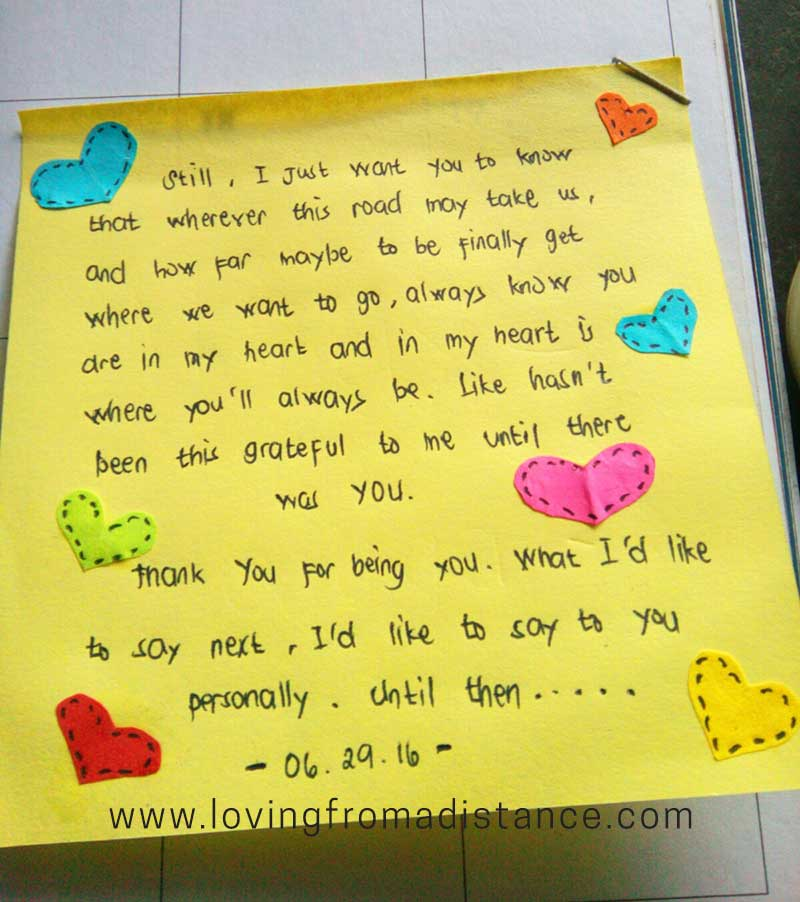 Love Letter Gallery Long Distance Relationship Love Letters