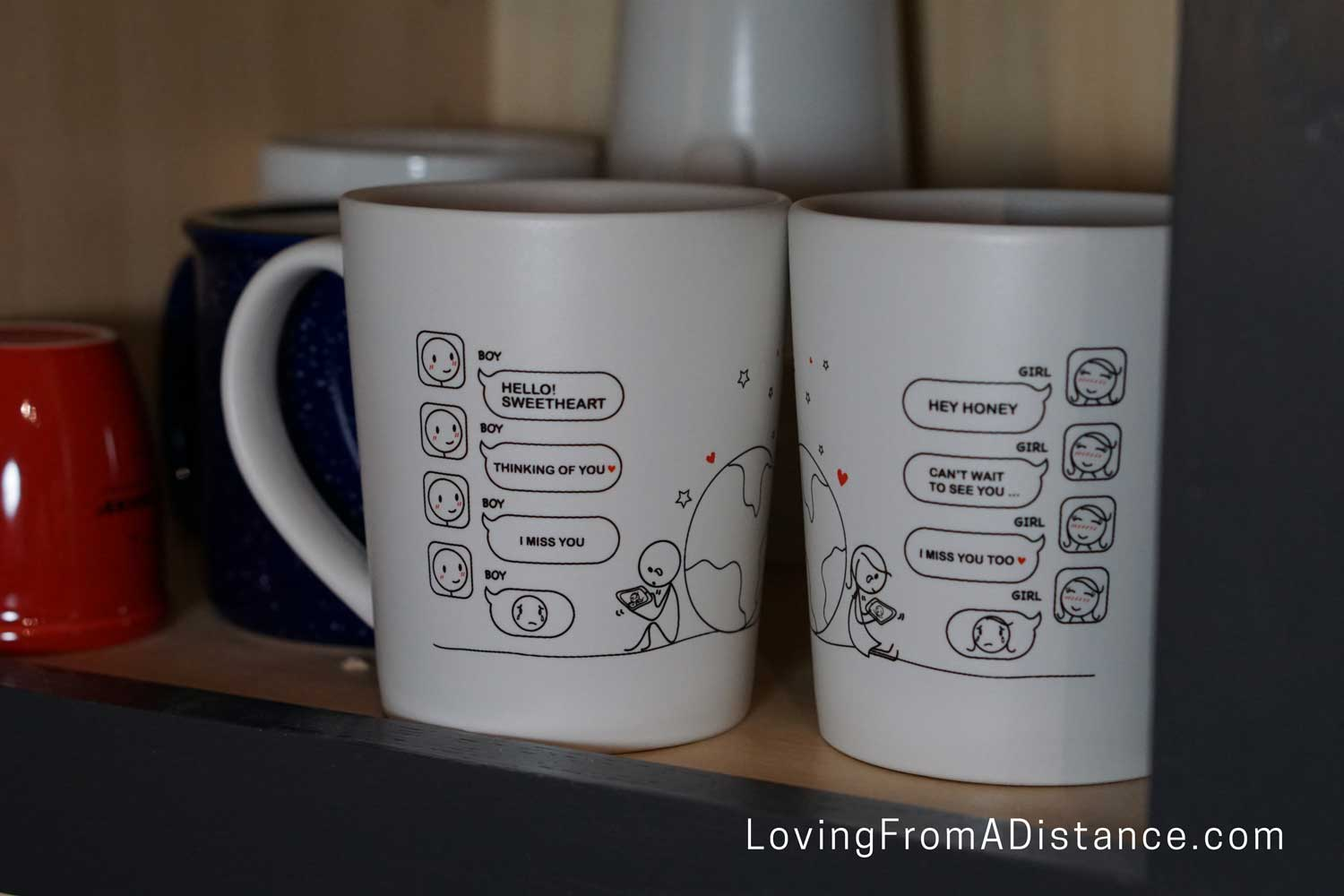 long distance relationship coffee mugs