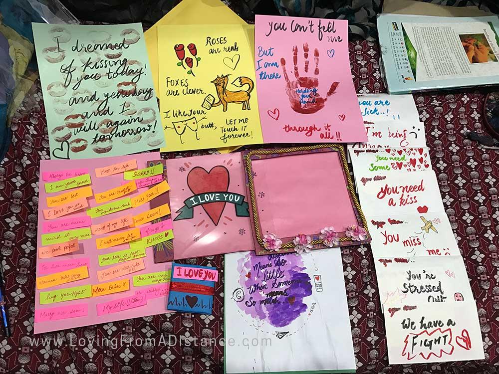 Military love letter ideas