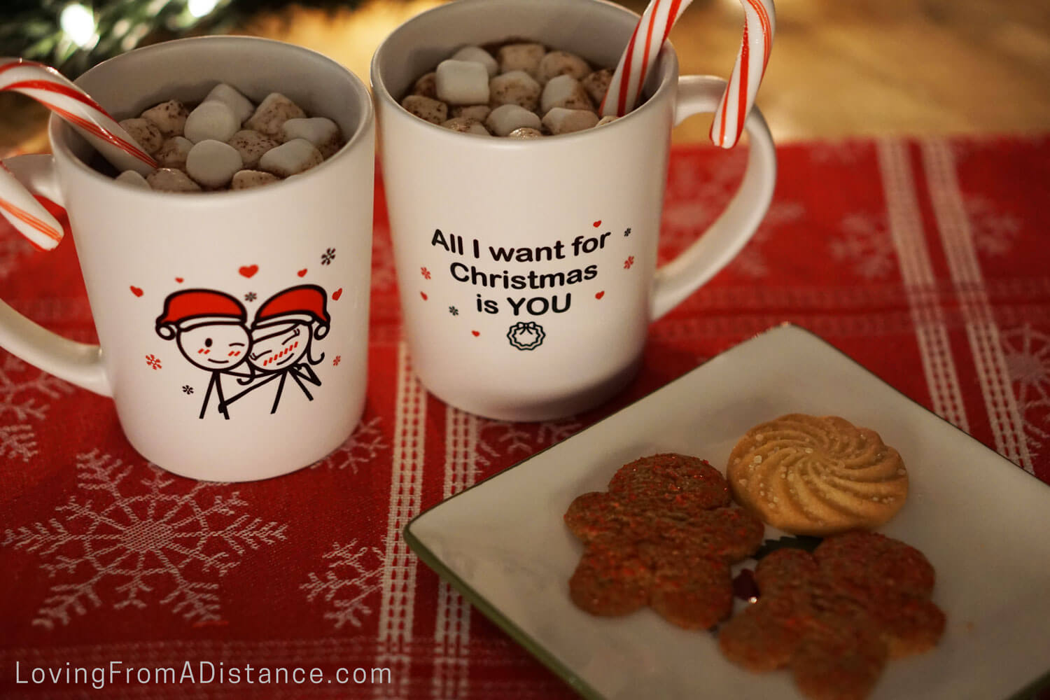 all i want for christmas is you coffee mugs