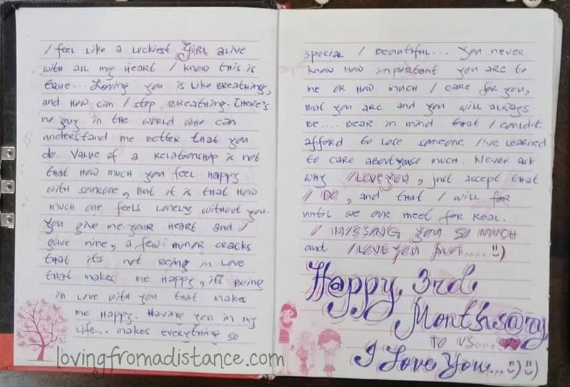 Happy One Year Anniversary Letter To Boyfriend from www.lovingfromadistance.com