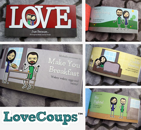 Love Coupon Book Lovecoups